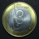 Slovenia 3 euro 2010 1 aUNC