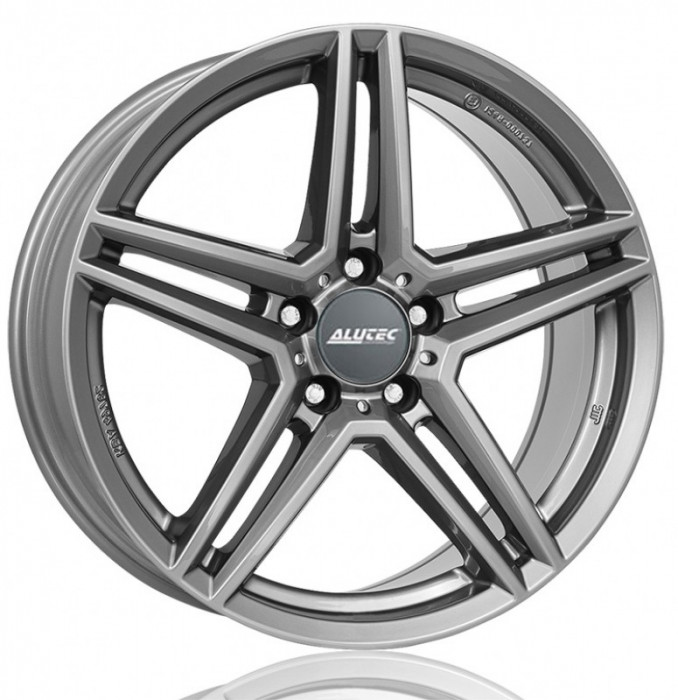 Jante VOLVO V40 Cross Country 7J x 16 Inch 5X108 et50 - Alutec M10 Metal-grey
