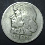 Polonia 10 zloti 1959, Europa