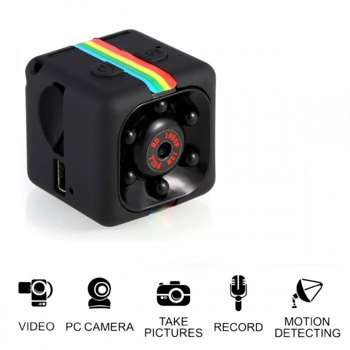 SQ 11 MINI camera video SQ11 FULL HD SQ11 CAMERA SPORT camera auto NIGHTVISION foto mare