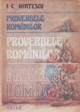 I. C. HINTESCU - PROCERBELE ROMANILOR