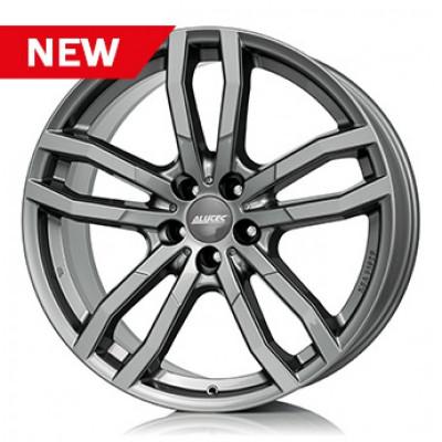 Jante AUDI Q7 9.5J x 21 Inch 5X130 et53 - Alutec Drive Metal-grey-frontpoliert foto