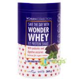 Woman Collection Wonder Whey Pudra Proteica Ciocolata si Menta 360g