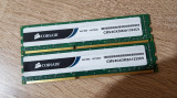Kit 4GB DDR3 Desktop,Brand Corsair,2x2GB,1333Mhz,CL9, DDR 3, 4 GB, Dual channel
