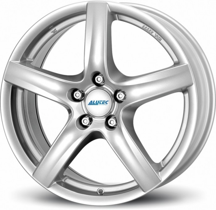 Jante VOLKSWAGEN LUPO 5.5J x 15 Inch 4X100 et45 - Alutec Grip Polar-silber