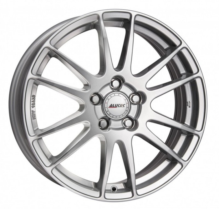 Jante RENAULT CLIO (III SERIE) 6.5J x 17 Inch 4X100 et40 - Alutec Monstr Polar-silber foto mare