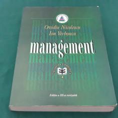 MANAGEMENT/* OVIDIU NICOLESCU , ION VERBONCU/ EDIȚIA A III-A REVIZUITĂ/ 1999