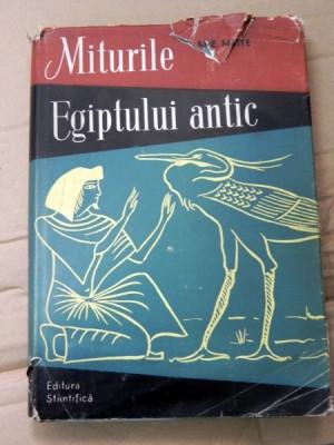 m.e. matie miturile egiptului  antic foto