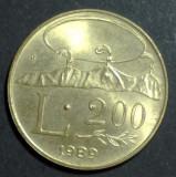 San Marino 200 lire 1989 UNC, Europa