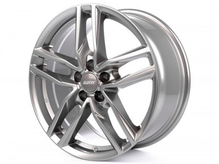 Jante AUDI A6 AVANT 7.5J x 17 Inch 5X112 et29 - Alutec Ikenu Metal-grey foto mare