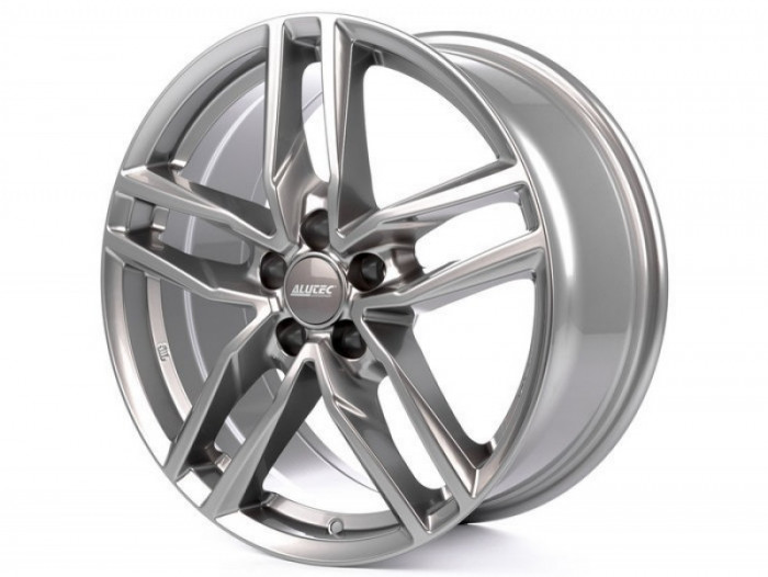 Jante SEAT LEON 6.5J x 16 Inch 5X112 et50 - Alutec Ikenu Metal-grey