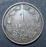 Austria 1 kreuzer 1858 M, Europa