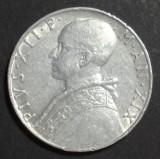 Vatican 10 lire 1957 XF, Europa