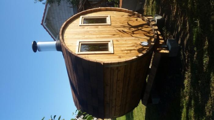 Sauna finlandeza foto mare