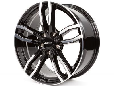 Jante BMW Seria 5 8J x 18 Inch 5X112 et30 - Alutec Drive Diamant-schwarz-frontpoliert foto