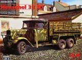 + Macheta 1/35 ICM 35466 - German Truck Henschel 33 D1 +, Italeri
