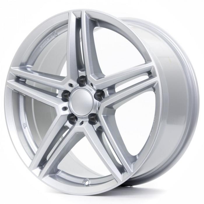 Jante AUDI S4 8J x 18 Inch 5X112 et48 - Alutec M10 Polar-silber