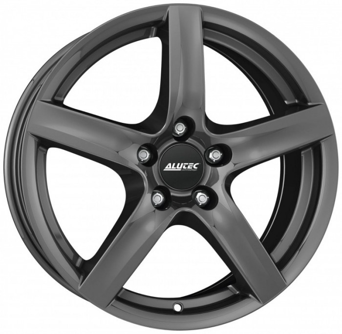 Jante SMART FORTWO ELECTRIC DRIVE Staggered 5.5J x 15 Inch 4X100 et40 - Alutec Grip Graphit