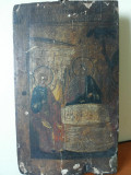 Icoana foarte veche, pe lemn