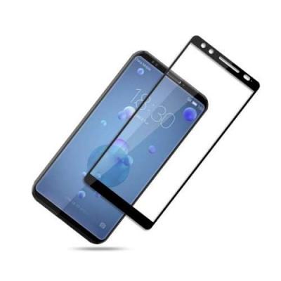 Geam Protectie Display HTC U12 Acoperire Completa Negru foto