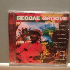 REGGAE GROOVE - VARIOUS ARTISTS (1998/CRIMSON/UK) - CD ORIGINAL/Sigilat