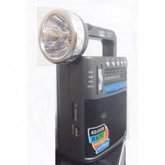 Radio lanterna si led UV,MP3,USB,card SD