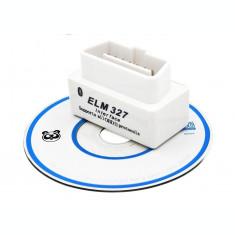 Interfata diagnoza Elm327 mini bluetooth OBDII OBD2 + CD (v.39)