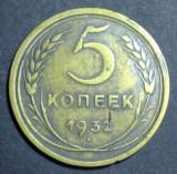 Rusia 5 kopecks 1932, Europa