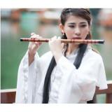 Flaut bambus 7 gauri acordat in F