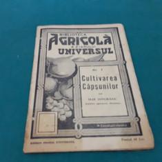 BIBLIOTECA AGRICOLĂ*CULTIVAREA CĂPȘUNILOR CU 13 FIGURI/ILIE ISVORANU/1939