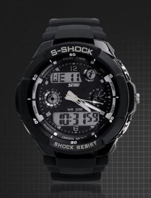 Ceas SKMEI S - Shock rezistent la apa 5 culori functii alarma calendar foto