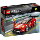 Set de constructie LEGO Speed Champions Ferrari 488 GT3 Scuderia Corsa