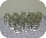 Ventuze medicinale de la bunica_12 bucăți identice