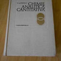 C. LITEANU--CHIMIE ANALITICA CANTITATIVA