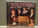 WORLD STARS OF OPERA  2 - Var.Artists - 2CD (1998/DECCA/UK) -CD ORIGINAL/Sigilat, decca classics