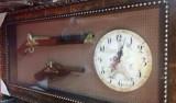 Panoplie doua arme clasice si ceas