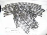 Bnk jc Lot linii Hornby , cu mici defete, 1:76, 00 - 1:76, Sine