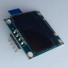 "Display 0.96"" OLED 128x64 IIC I2C Arduino ( GALBEN - ALBASTRU ) V.33"