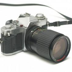 Canon AV-1 + obiectiv 28-100mm