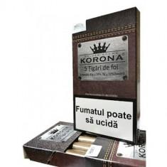 Tigari de foi KORONA 45gr X 10 + KORONA 550 x 1 buc.