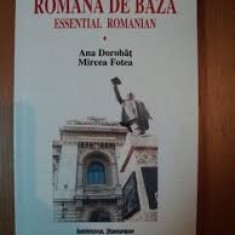 Romana de baza essential romanian