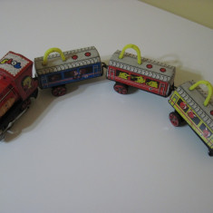 Jucarie veche chinezeasca de colectie - Trenulet electric (ME 855)