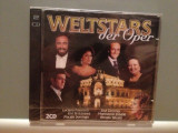 WORLD STARS OF OPERA - Var.Artists -2CD (1998/DECCA/UK) -CD ORIGINAL/Sigilat/Nou, decca classics