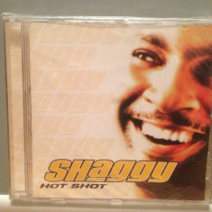 SHAGGY - HOT SHOT  (2001/MCA/GERMANY) - CD ORIGINAL/Sigilat/Nou, MCA rec