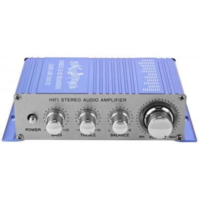 Amplificator auto, moto 2 canale USB / MP3 / FM / SD / DVD foto
