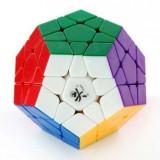 Cub Rubik Megaminx 3x3x3 Cyclone + Cadou Spinner cu luminite