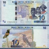 BOLIVIA 10 bolivianos 2018 UNC!!!