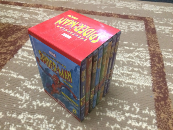 Spectacular Spiderman - colectie 8 DVD-uri desene animate
