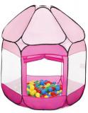 Cort De Joaca Cu 250 Bile Bath Of Balls Pink, Knorrtoys