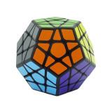 Cub Rubik 3x3x3 - Moyu MofangJiaoShi Megaminx + Cadou Spinner cu luminite